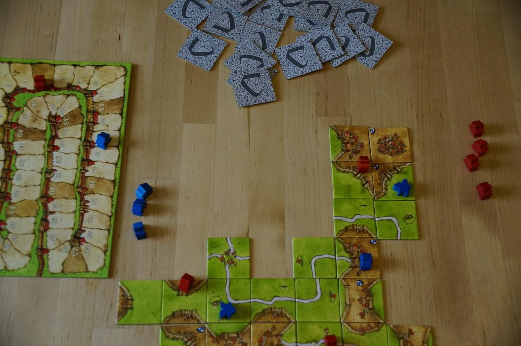 Carcassonne Spielfeld