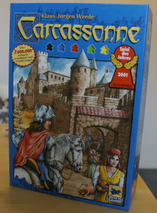 Carcassonne Verpackung