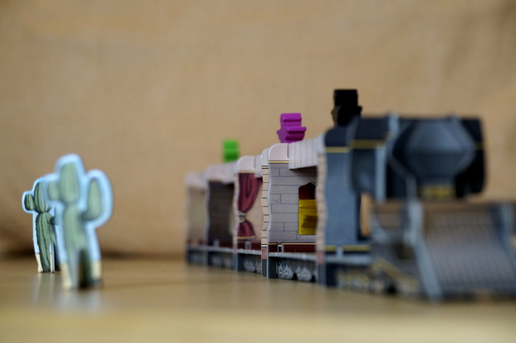Nahaufnahme 3D Zug