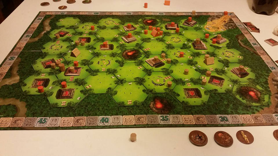 Tikal Spielaufbau